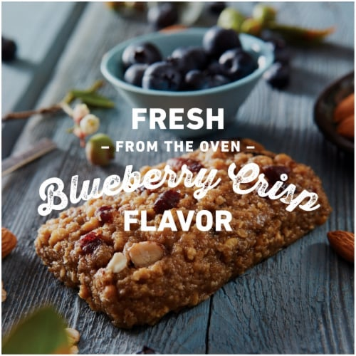 Clif Bar Blueberry Crisp Energy Bars Perspective: bottom
