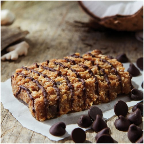 Clif Bar Coconut Chocolate Chip Energy Bars Perspective: bottom