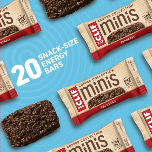 Clif Bar Coffee Collection Espresso Mini Energy Bars Perspective: bottom