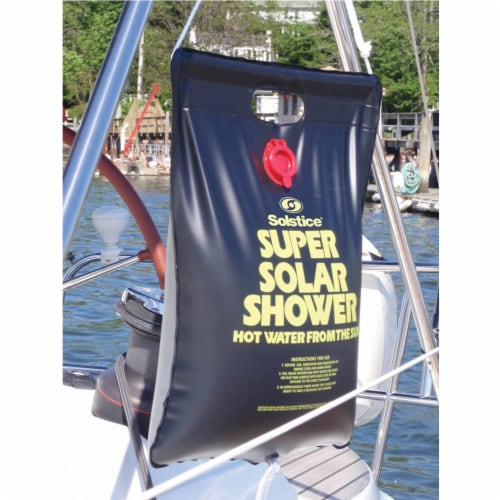 Swimline 3.75 Gallon Super Solar Sun Backpacking Camping Outdoor Shower Perspective: bottom
