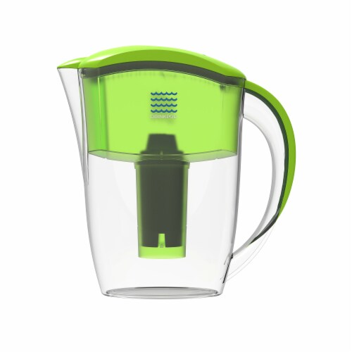 2 Drinkpod  Alkaline Water Pitchers 2.5L Capacity Includes 6 Filters Perspective: bottom