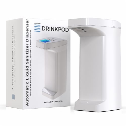2 Drinkpod Alkaline Water Filter Dispensers pH Ionized Water  2.4 Gal Includes 6 Filters Perspective: bottom