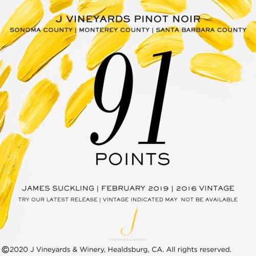 J Vineyards Pinot Noir Red Wine Perspective: bottom