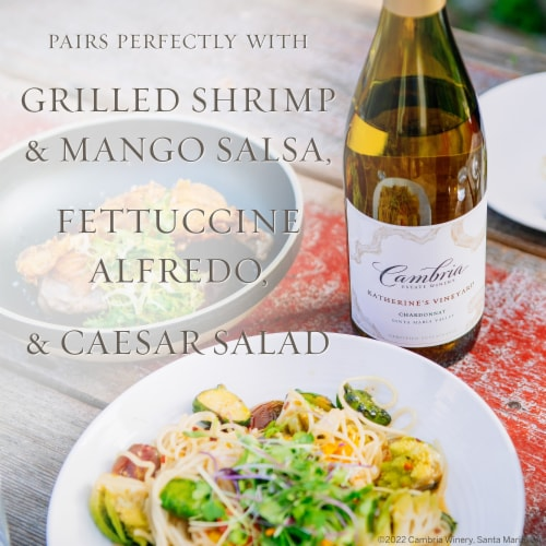 Cambria Katherine's Vineyard Chardonnay White Wine Perspective: bottom