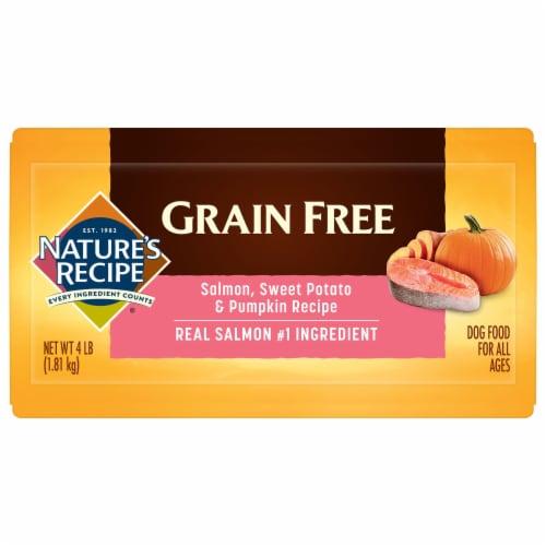 Nature's Recipe® Grain Free Salmon Sweet Potato & Pumpkin Dry Dog Food Perspective: bottom