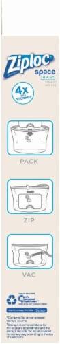 Ziploc® Space Bag® Vacuum Seal Cube Perspective: bottom