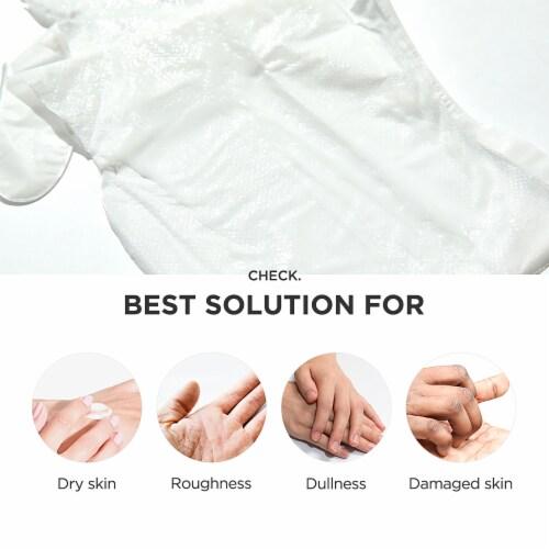 Pick Up & Go 3 Sheets Nourishing Mango Hand Mask Perspective: bottom