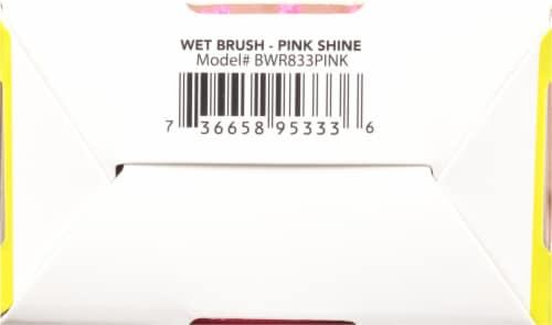 Wet Brush Shine Enhancer Brush - Pink Perspective: bottom