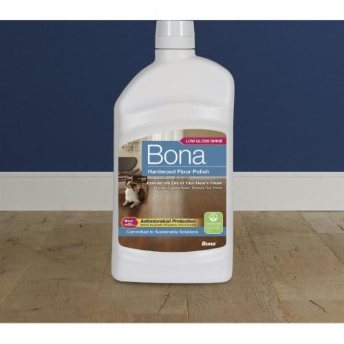 Bona  Low Gloss  Hardwood Floor Polish  Liquid  36 oz. - Case Of: 1; Perspective: bottom