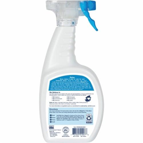 Bona  PowerPlus  No Scent Hardwood Floor Cleaner  Liquid  36 oz. - Case Of: 8; Perspective: bottom