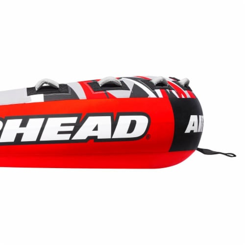 """Airhead AHSSL-42 Slice 100"""" Inflatable Double Rider Towable Lake Tube Water Raft Perspective: bottom"""
