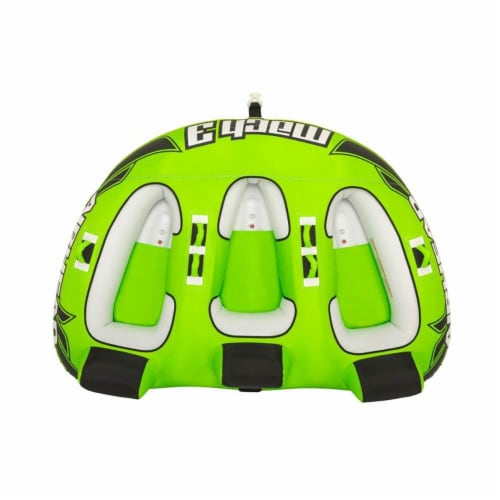 Sportsstuff Mach 3 Inflatable Triple Rider Towable Water Lake Ocean River Tube Perspective: bottom
