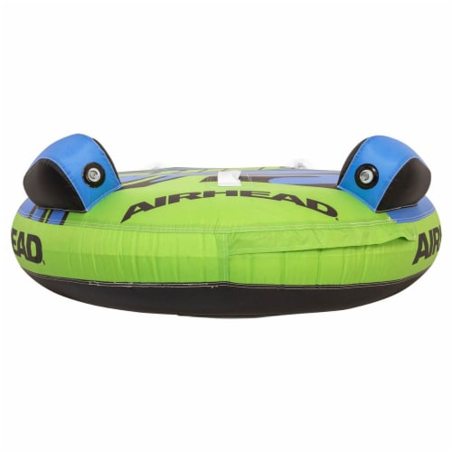 Airhead AHSH-T1 Shield Single Person Towable Inflatable Water Tube w/ 4 Handles Perspective: bottom