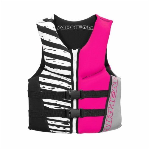 Airhead Wicked Neolite 50-90 Lb Pink Youth Life Vest Jacket   10077-03-B-HP Perspective: bottom