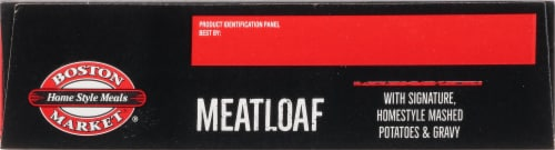 Boston Market® Home Style Meals Meatloaf Frozen Meal Perspective: bottom