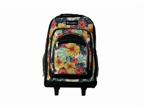 Everest Wheeled Backpack - Tropical Perspective: bottom