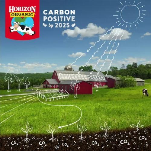 Horizon Organic Lactose-Free 2% Reduced Fat Milk Perspective: bottom