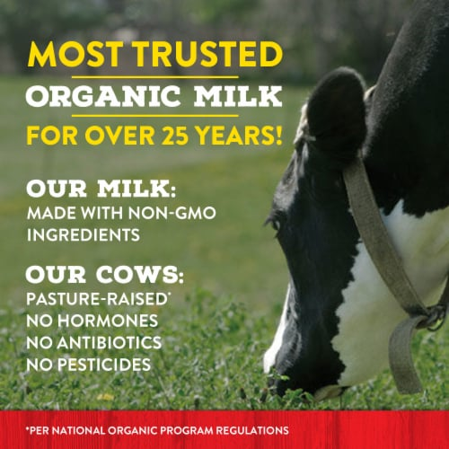 Horizon Organic DHA Omega-3 1% Chocolate Lowfat Milk Perspective: bottom