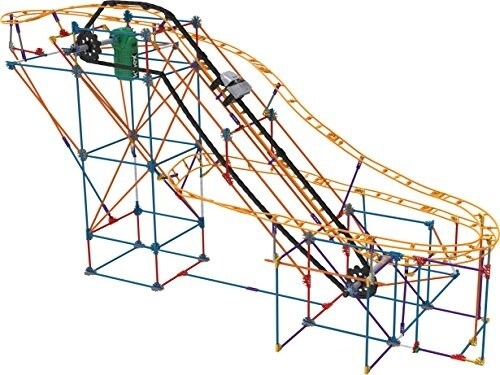 K'NEX Thrill Rides - Panther Attack Roller Coaster Building Set with Ride It! App - 690 Piece Perspective: bottom
