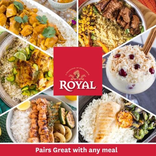 Royal Ghee & Garlic Seasoned Basmati Rice Perspective: bottom