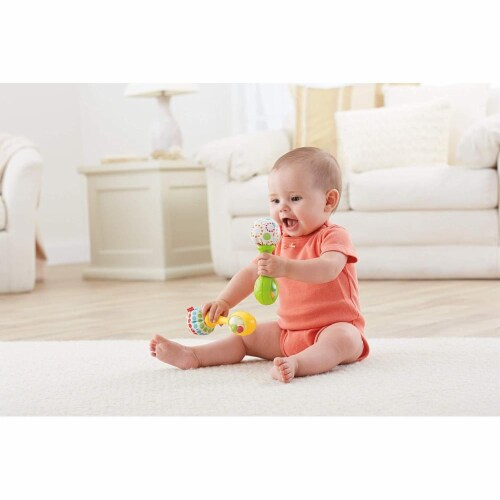 Fisher-Price® Rattle 'N Rock Maracas Musical Toy Perspective: bottom