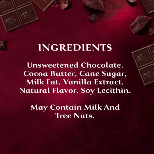 Ghirardelli Intense Dark 92% Cacao Dark Chocolate Squares Perspective: bottom
