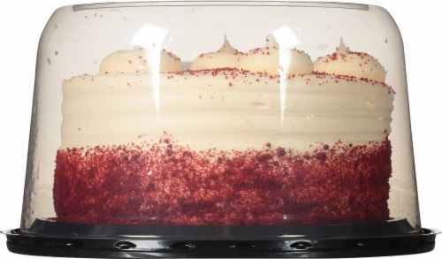 Rich's Red Velvet Double Layer Cake Perspective: bottom