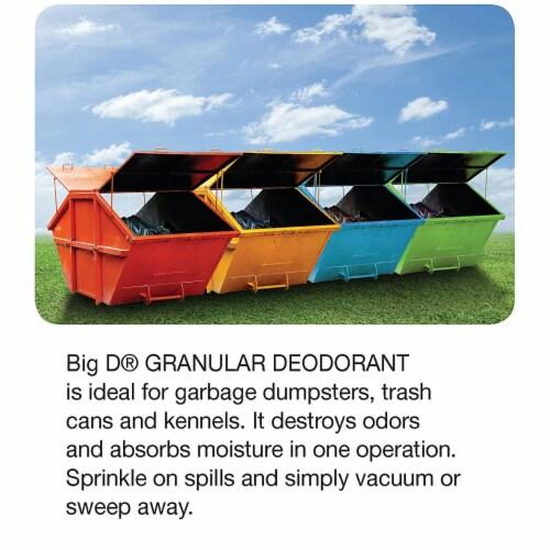 Big D Garbage Can Odor Eliminator Granular Deodorant Moisture Absorber, Lemon Perspective: bottom
