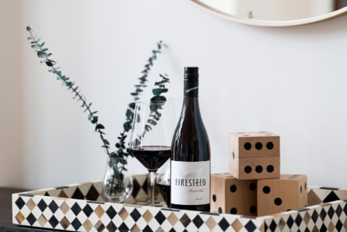 Firesteed Pinot Noir Red Wine Perspective: bottom