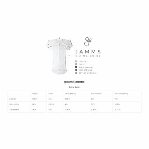 Goumikids Baby Sleeper Gown Organic Bamboo Sleepsack Pajama Clothes, 3-6M Moss Perspective: bottom