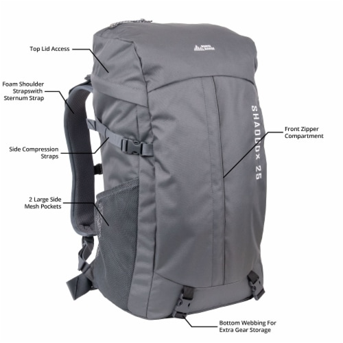 North Range Shaddox Backpack Perspective: bottom