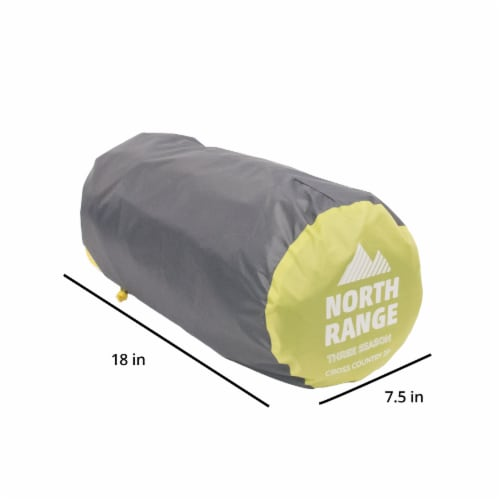 North Range Cross Country 4-Person Tent Perspective: bottom
