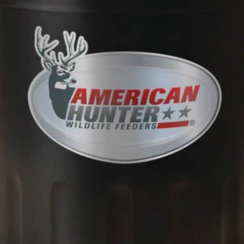 American Hunter R-Pro Wildlife Game Feeder Kit with Analog Timer & Varmint Guard Perspective: bottom