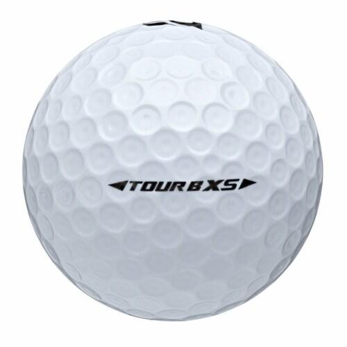 Bridgestone Tour B RXS Feel & Distance White Golf Balls Low Average Score, Dozen Perspective: bottom