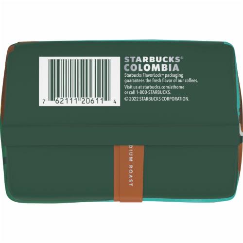 Starbucks Colombia Medium Roast Ground Coffee Perspective: bottom