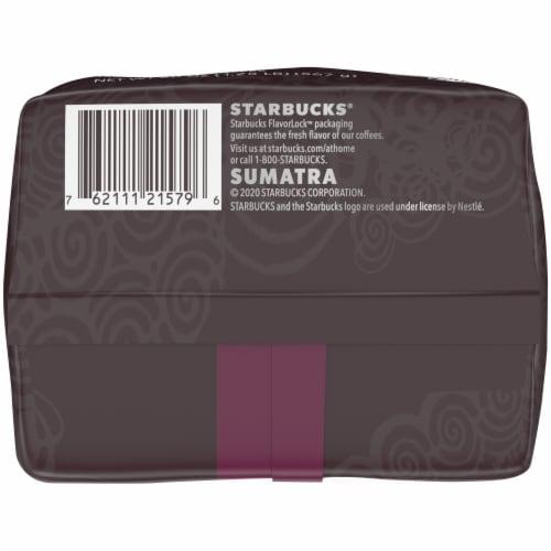 Starbucks® Sumatra Dark Roast Ground Coffee Perspective: bottom