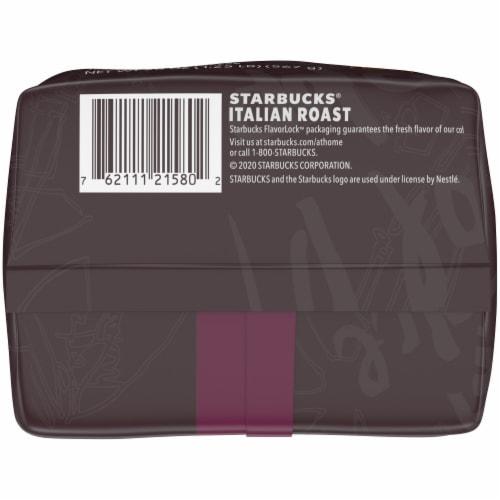 Starbucks® Italian Dark Roast Ground Coffee Perspective: bottom