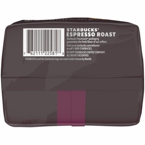 Starbucks® Espresso Dark Roast Whole Bean Coffee Perspective: bottom