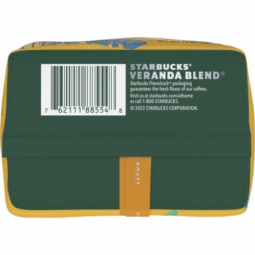 Starbucks® Veranda Blend Blonde Roast Ground Coffee Perspective: bottom
