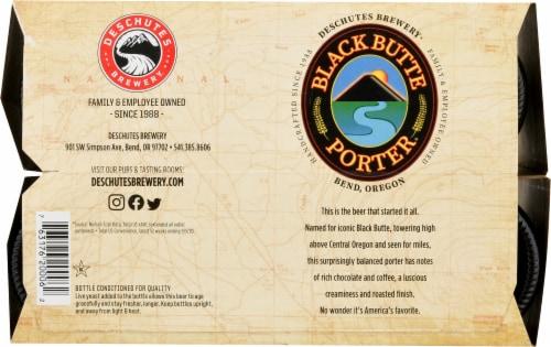 Deschutes Brewery Black Butte Porter Beer Perspective: bottom
