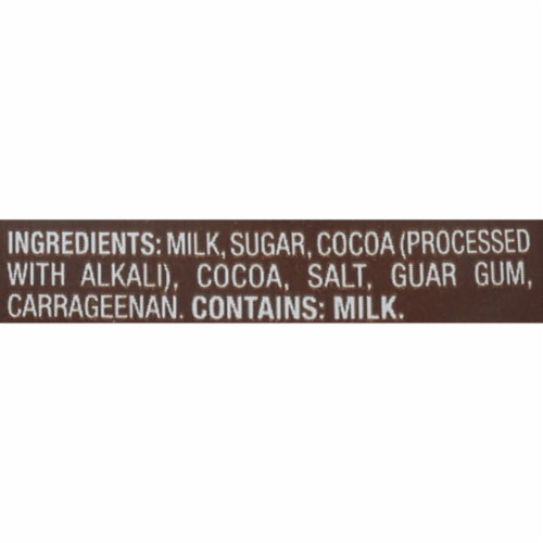 Promised Land Dairy Midnight Chocolate Ultra-Pasteurized Whole Milk Perspective: bottom