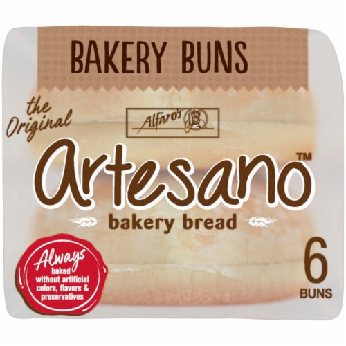 Alfaro's® Artesano™ Bakery Buns Perspective: bottom