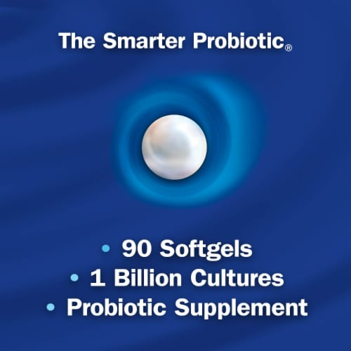 Enzymatic Therapy Probiotic Pearls Acidophilus Softgels Perspective: bottom