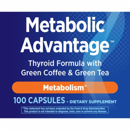 Enzymatic Therapy™ Metabolic Advantage™ Thyroid Formula Perspective: bottom