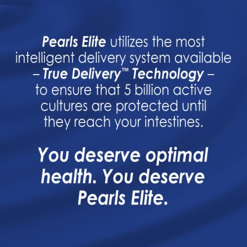 Enzymatic Therapy Probiotic Pearls Elite Dietary Supplement Capsules Perspective: bottom