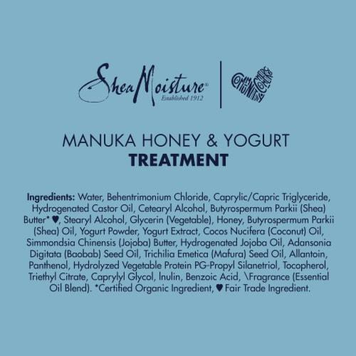 Shea Moisture Manuka Honey & Yogurt Hydrate + Repair Protein Power Treatment Perspective: bottom
