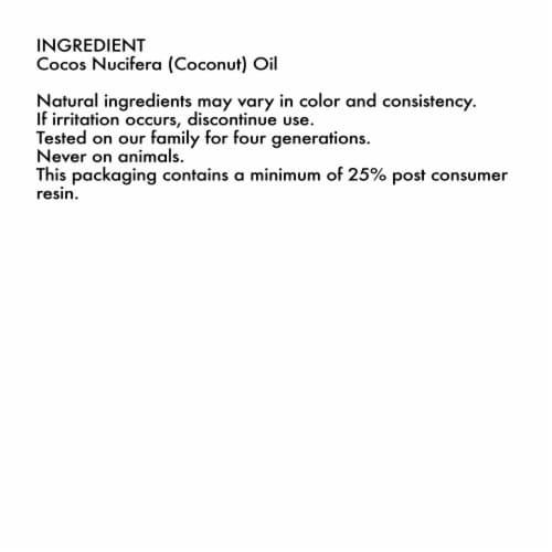 Shea Moisture® Head-To-Toe 100% Extra Virgin Pure Coconut Oil Nourishing Hydration Perspective: bottom