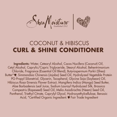 SheaMoisture Coconut & Hibiscus Curl & Shine Conditioner Perspective: bottom