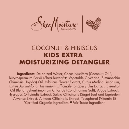 SheaMoisture® Kids Coconut & Hibiscus Detangler with Shea Butter for Curly Hair Perspective: bottom