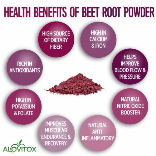 Certified Organic Beet Root Powder 16 oz Raw Vegan & Gluten Free (Beet Root Powder, 16 oz) Perspective: bottom